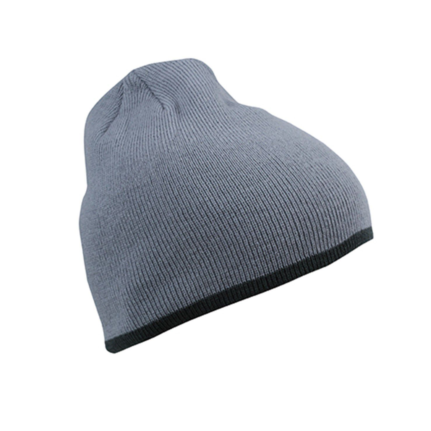 Donkergrijze Hippe beanie
