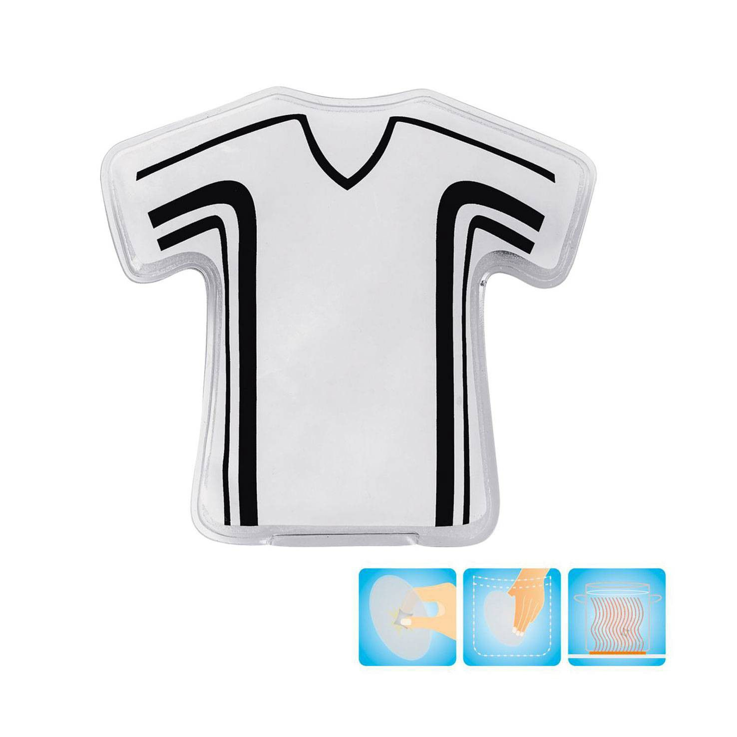 Witte Handverwarmer t-shirt